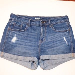Old navy boyfriend denim shorts size 4